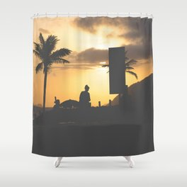 Carioca way of life Shower Curtain