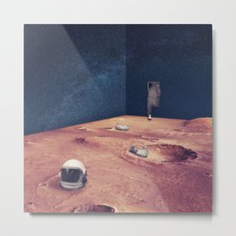Escape from Mars Metal Print