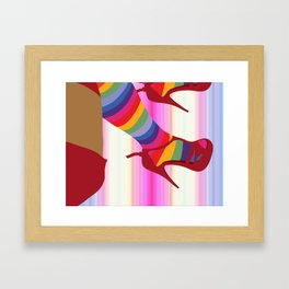 Falling... Framed Art Print