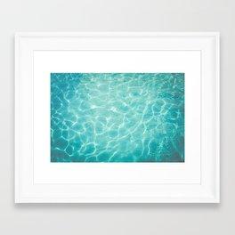 Palm Springs Summer Framed Art Print