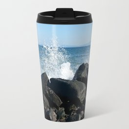 Sea wave Travel Mug