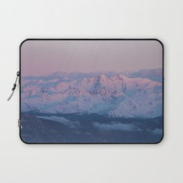 Perfect sunrise in South Tyrol - Landscape and Nature Photography Laptop Sleeve