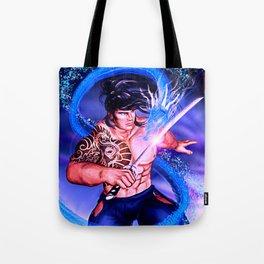 Samurai Kyrai Tote Bag