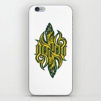 warcraft iPhone & iPod Skins featuring Angel 3K ambigram by LoneLeon