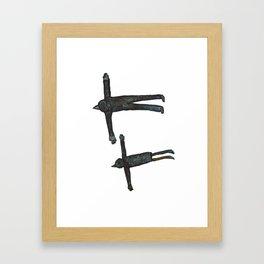 Flight Pair Framed Art Print