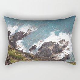 Looking Down, Oahu, Hawai'i Rectangular Pillow