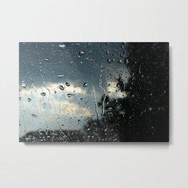 Raindrops in Colorado Metal Print