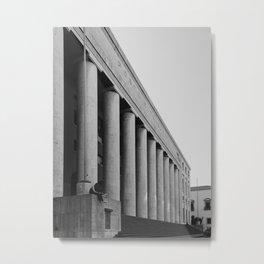 Italian rationalism, Palermo Palazzo delle Poste Metal Print