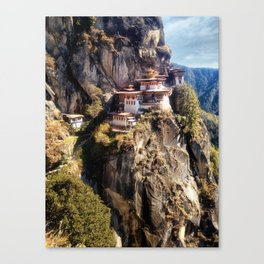 Taktshang Goemba - Tiger's Nest Monastery Canvas Print
