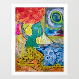 Grace Under Pressure Art Print