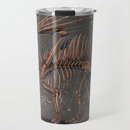 Western Dragon Skeleton Anatomy Travel Mug