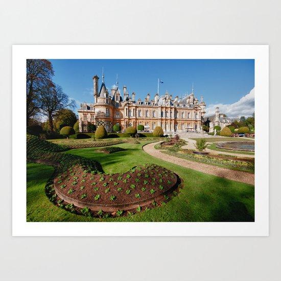 Waddesdon Manor Art Print