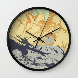 Salvador Dali - lithograph Salvador Dali (1904-1989) - Costa Brava Lithograph (1971) - Surrealism - Wall Clock