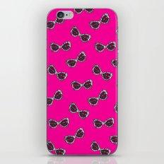 Diva Sunglasses-Pink iPhone & iPod Skin