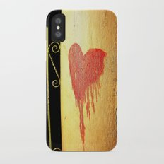 Bleeding Heart iPhone X Slim Case