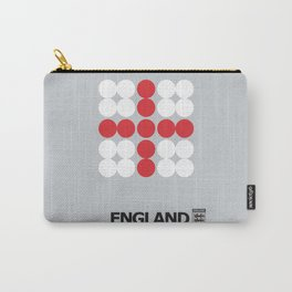 England National Team Minimalist Football Poster Carry-All Pouch