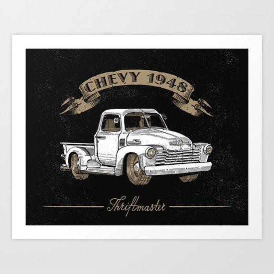 Legendary Pickup Art Print