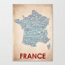 France Canvas Print