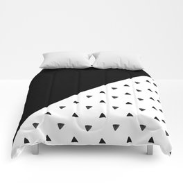 Triangle and triangles Comforters