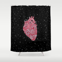 Lonely hearts Shower Curtain