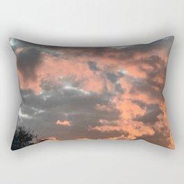 Glowing Clouds Rectangular Pillow