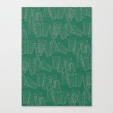 Tumbling Tumblers Canvas Print