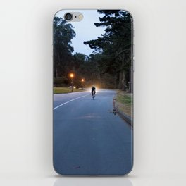 Ride Through The Light iPhone Skin