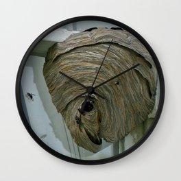 Hornets Nest Wall Clock