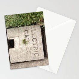 Electric Green Stationery Cards
