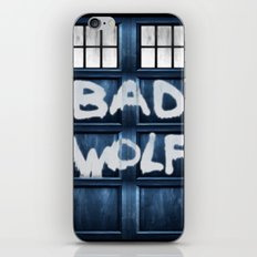 DOCTOR WHO SERIES / BAD WOLF iPhone & iPod Skin