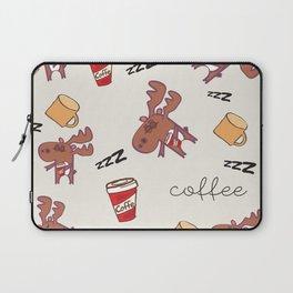 coffee addicted Laptop Sleeve