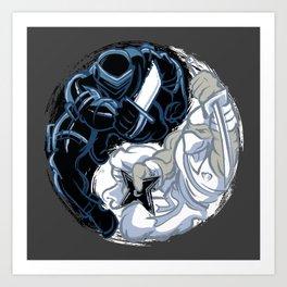 Snake Eyes/Storm Shadow  Art Print