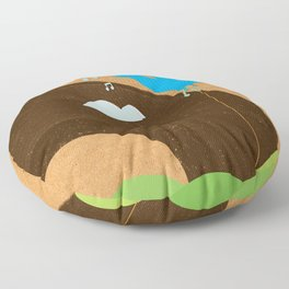 Bird Song Floor Pillow