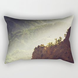 Long Way Down - Caldera de Taburiente - La Palma Rectangular Pillow