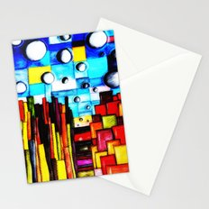 Abstract Autumn Landscape Stationery Cards
