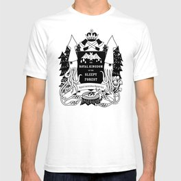 The Royal Kingdom of the Sleepy Forest T-shirt