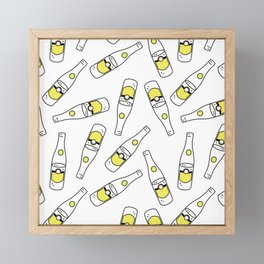 Topo Pattern Framed Mini Art Print