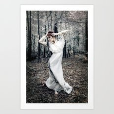 The Faery Grove Art Print