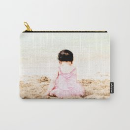 Baby at Beach Carry-All Pouch