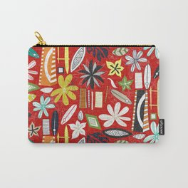 beachy red Carry-All Pouch