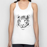 mike wrobel Tank Tops featuring Mike Tyger by chance horseribs higgins