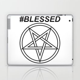 #BLESSED INVERTED INVERSE Laptop & iPad Skin