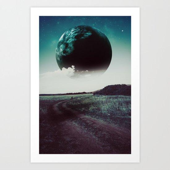 Long way home II Art Print