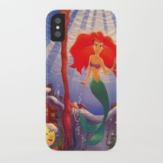 The Little Mermaid iPhone X Slim Case