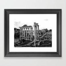 Roman Forum Framed Art Print