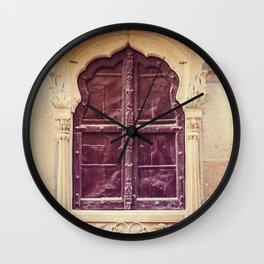 Haveli Window Jaisalmer Rajasthan Wall Clock