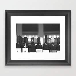 Wine Shop at Heinen's of Downtown Cleveland Framed Art Print