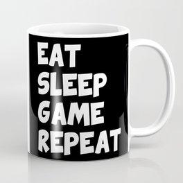 Eat sleep game repeat Coffee Mug