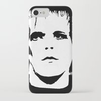 lou reed iPhone & iPod Cases featuring Lou Reed Reanimated  by Spirit Monster