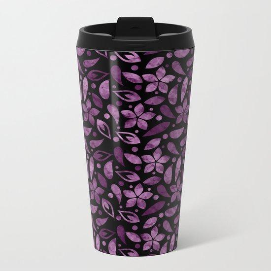 Colorful Lovely Pattern XVV Metal Travel Mug